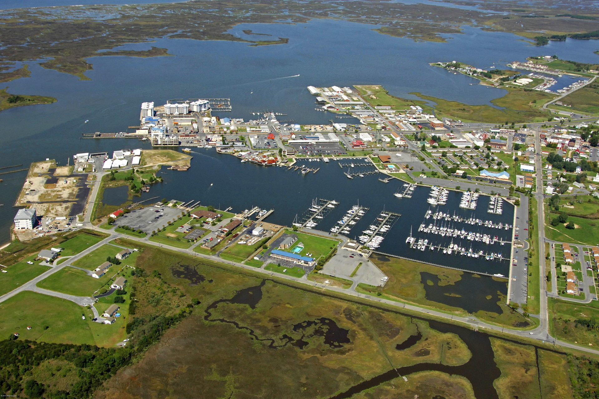 Somers Cove Marina, Crisfield, Maryland