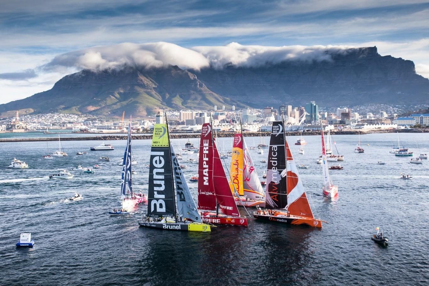 Volvo Ocean Race Cape Town In Port Race Sail Leisure