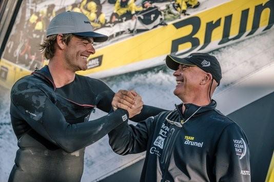 Nick Jacobsen and Bouwe Bekking