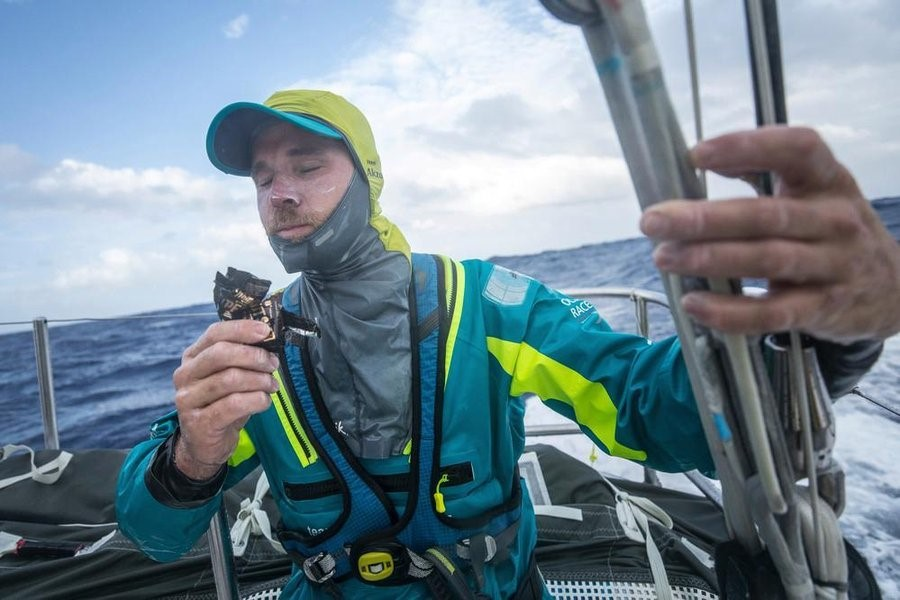 Mmmm snacks © SAM GREENFIELD/VOLVO OCEAN RACE