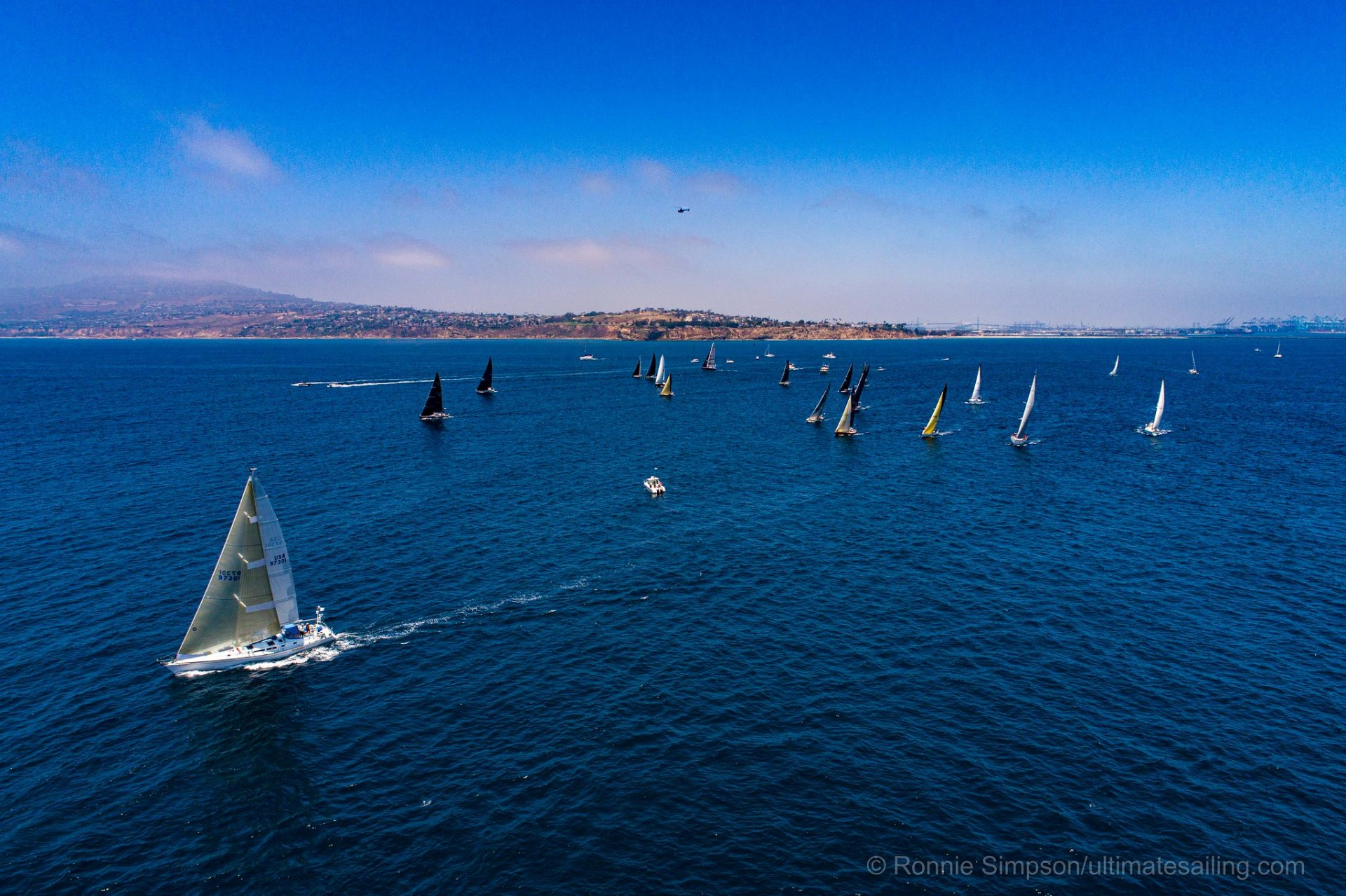Start of the 2019 Transpac race