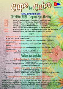 Opening Cruise RCYC