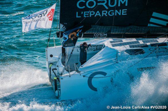 Vendee Globe race start - Corum