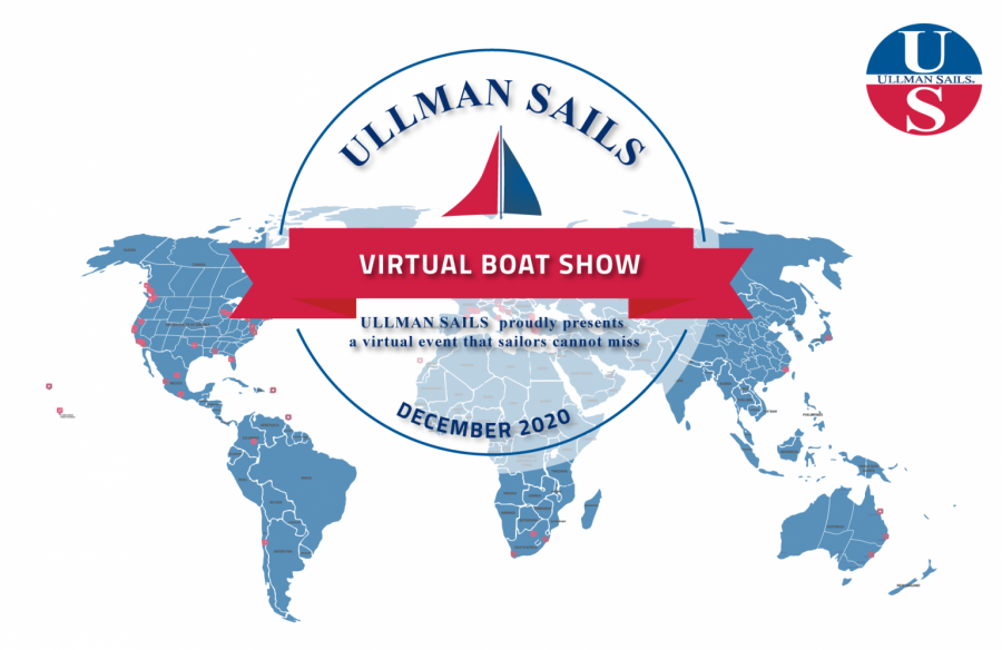 Ullman sails Virtual Boat Show