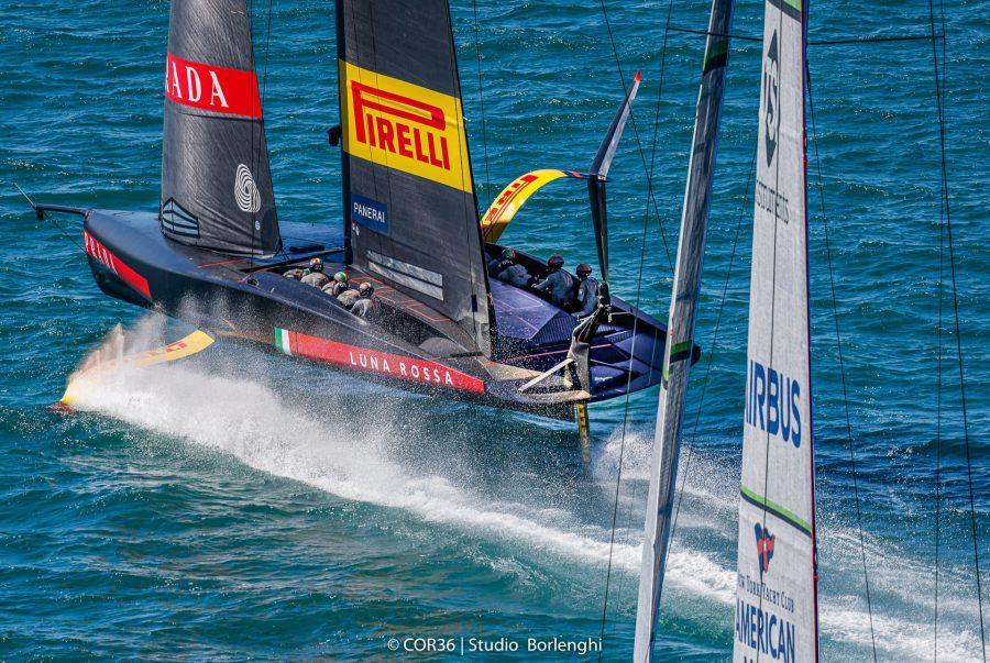 Luna Rossa Prada Pirelli - PRADA Cup semi-finals