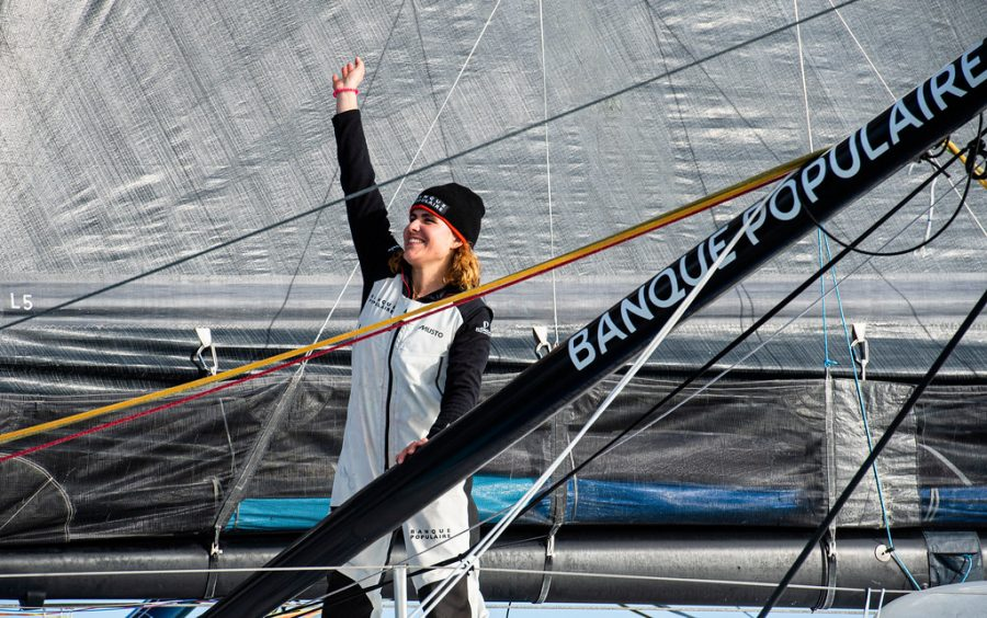 Clarisse Cremer - Vendee Globe Race first female - Banque Populaire