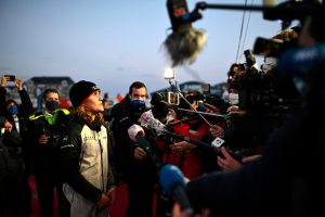 Clarisse Cremer first woman to finish Vendee Globe