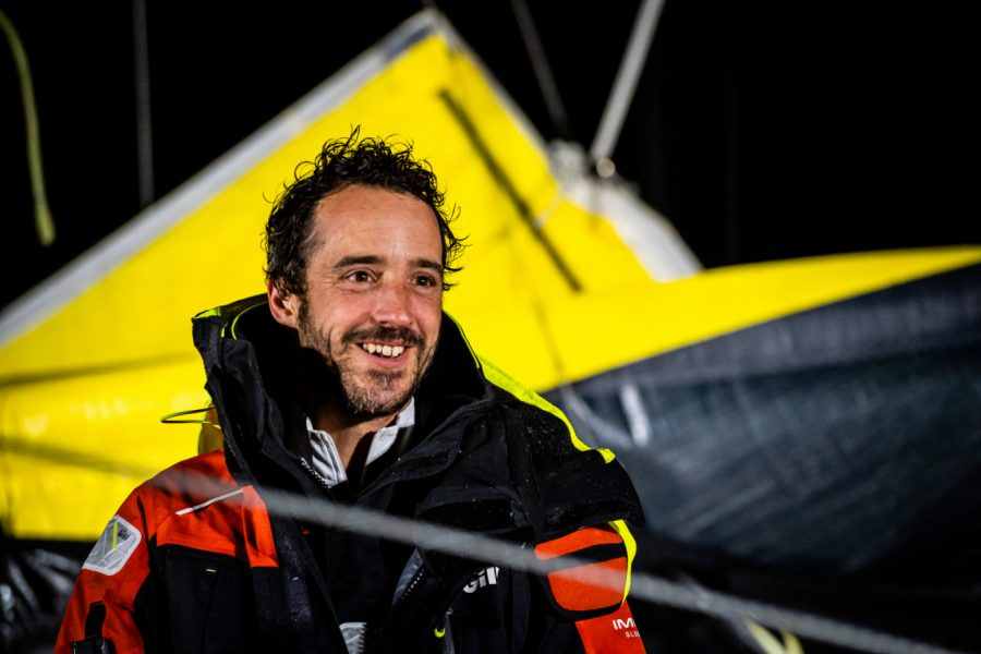 Louis Burton finishes Vendée Globe
