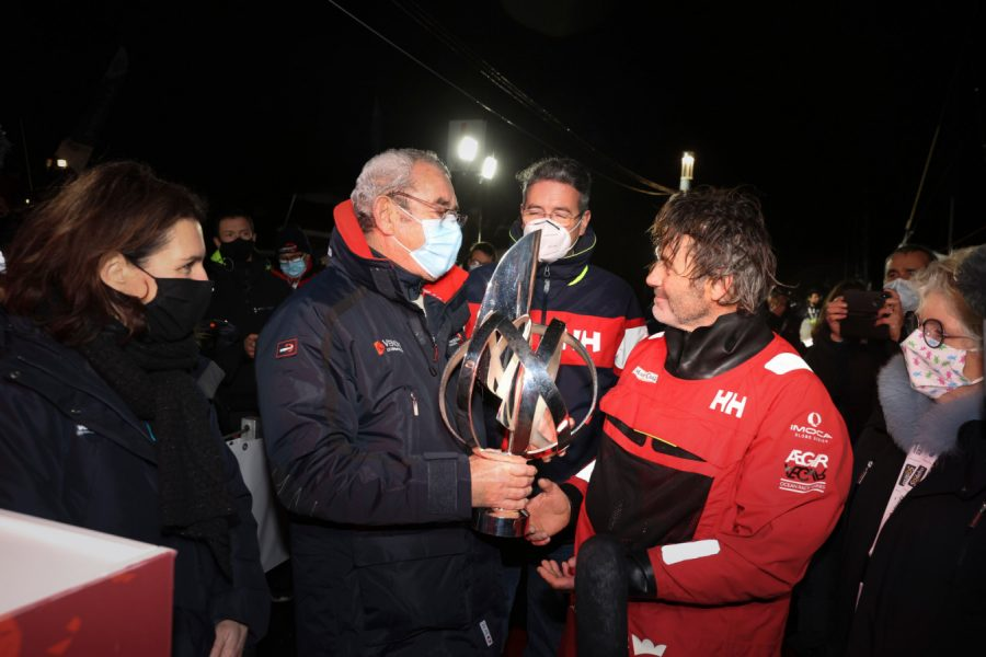 Yannick Bestaven Vendee Globe finishes