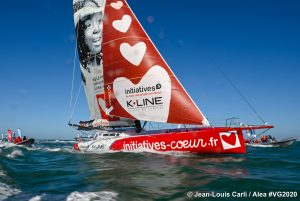 Sam Davies finishes Vendeé Globe Race