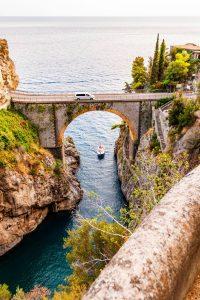 amalfi coast - beautiful road trips in europe